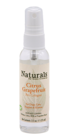 Naturals™ | 2.5 oz. Citrus-Grapefruit Pet Cologne
