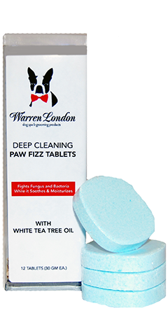 12 Count Warren London | Deep Cleaning Paw Fizz Tablets