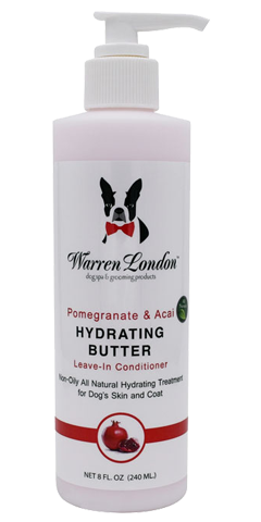 8 oz. Warren London | Pomegranate & Acai Hydrating Butter For Pet Skin & Coat