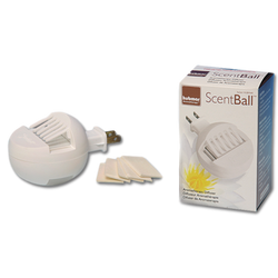 Plug-In Scent Ball Diffuser -- Diffuses 300 Sq. Ft.