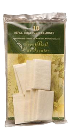 Replacement Pads for Plug-In, Scent-Ball Diffuser (Pack of 10)