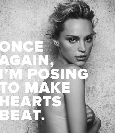 Peter Lindbergh photographed INNANGELO creator Inna Zobova for The Heart Fund's new campaign