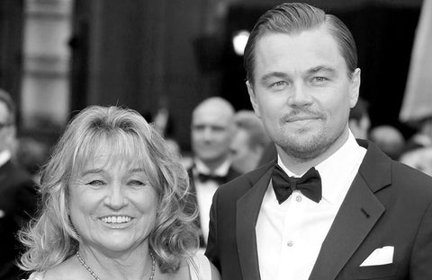 Leonardo DiCaprio buys a limited edition Innangelo scarf for his Mum
