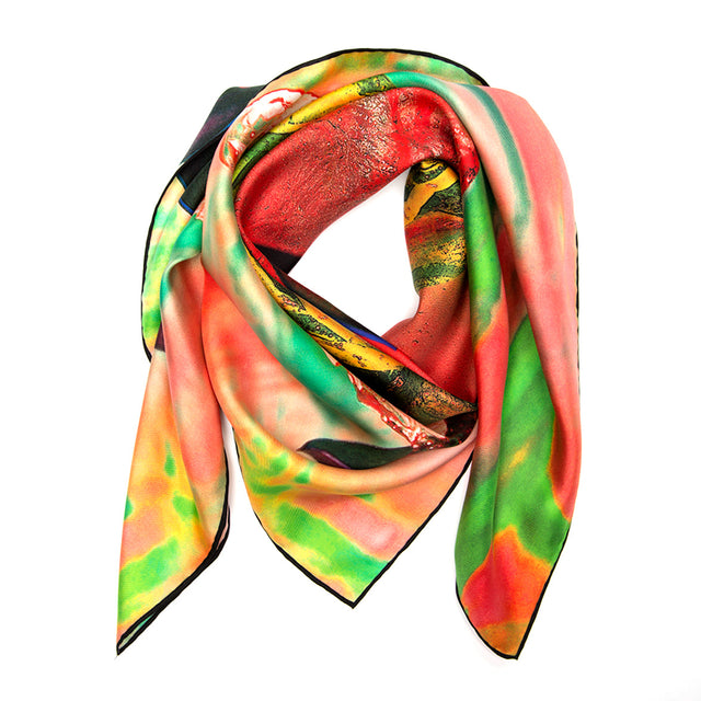 SILK SCARF ARSENIC.