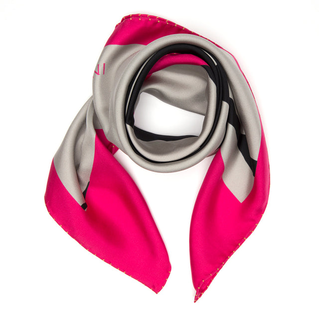 NEW! SILK SCARF CHAPLIN