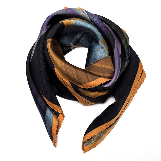NEW! SILK SCARF L'ÉPICE