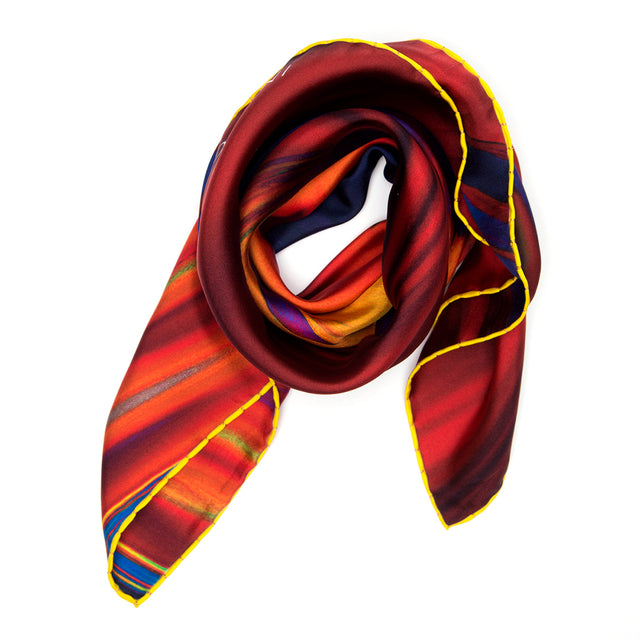 NEW! SILK SCARF OMBRE