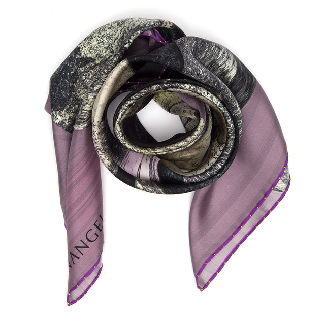 NEW! SILK SCARF LOST SAMURAI