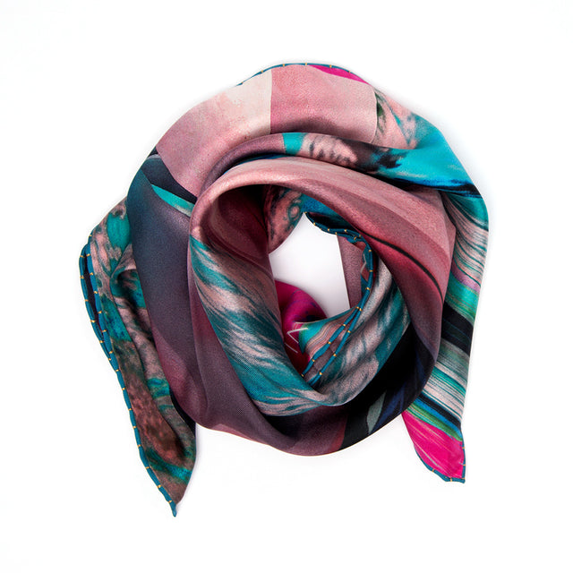 NEW! SILK SCARF SPRING