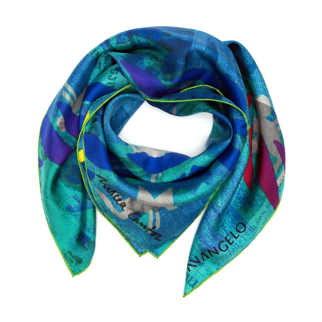 Silk scarf Rainbow Rope by Mircea Cantor back in stock!