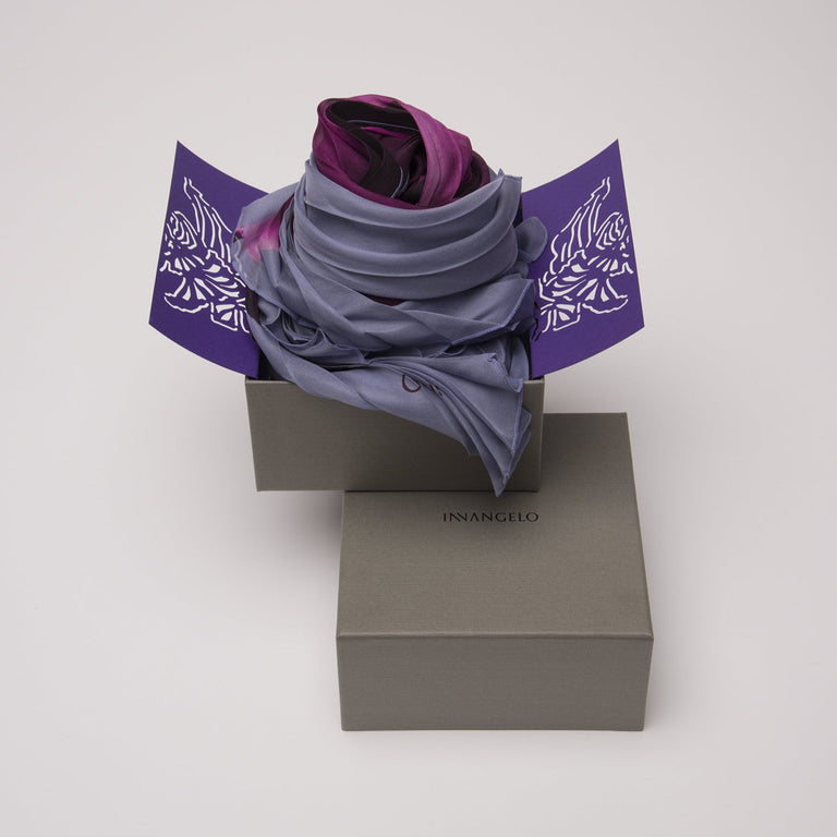 LUXURY SCARF MADAME BUTTERFLY.