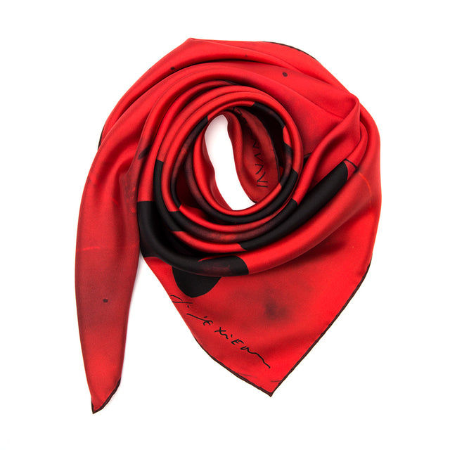 SILK SCARF THEORIA SACRA BY RICHARD TEXIER.