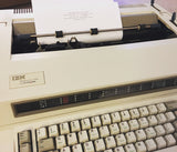 The IBM Wheelwriter Typewriter:  A Review