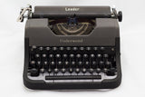 The Underwood Leader Typewriter - a Review