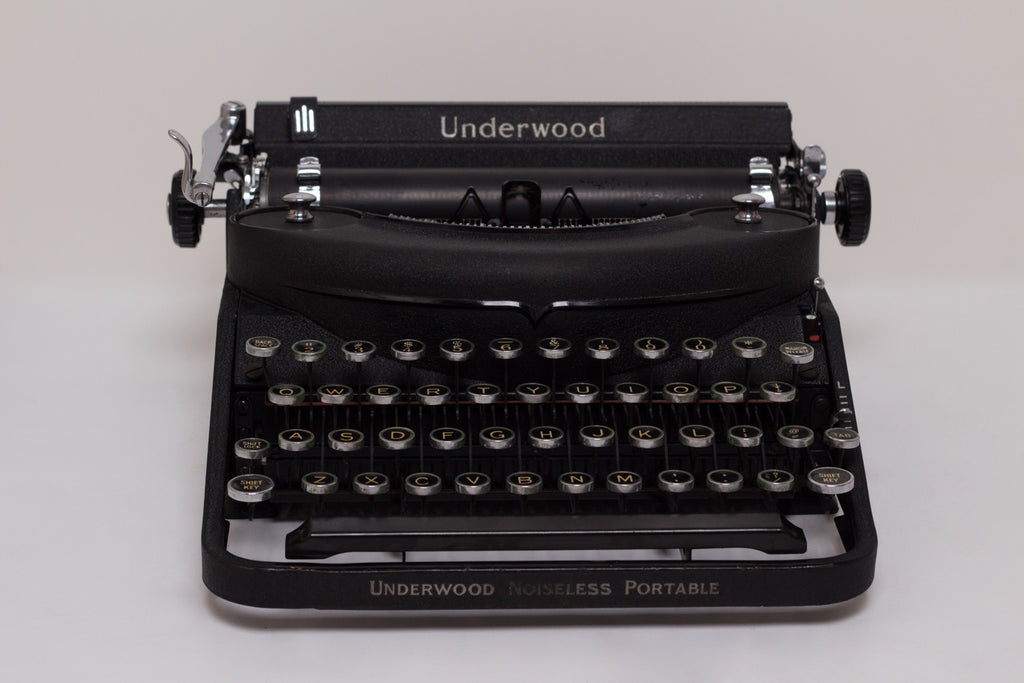 Things to Look for When Buying a Vintage Typewriter