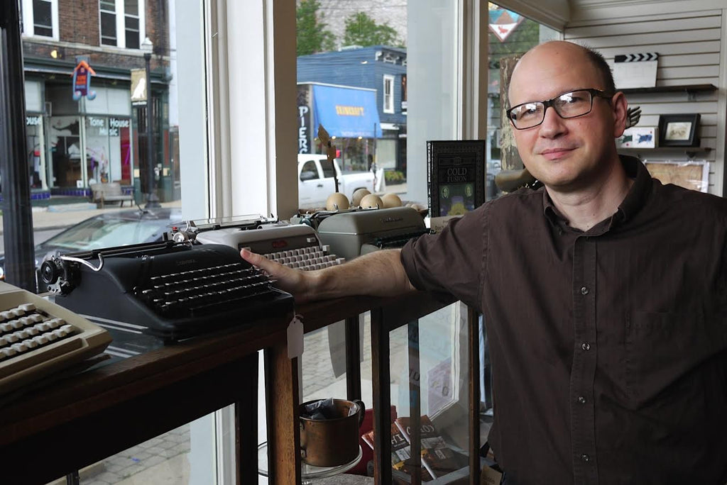 An Interview with Richard Polt, Author of The Typewriter Revolution