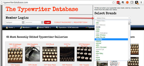 How Old is My Typewriter? by Bench Bookkeeping