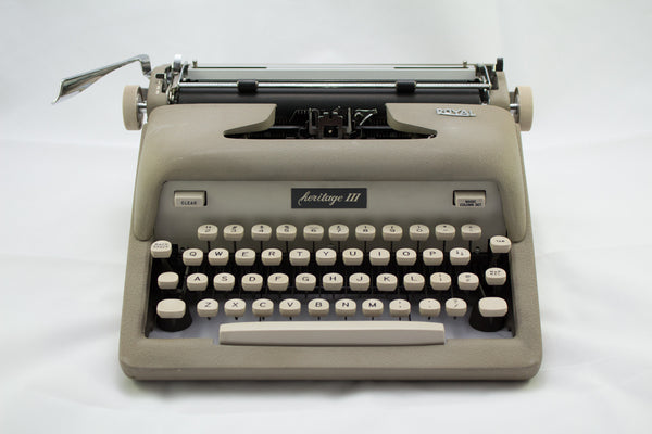 Refurbished Royal Heritage Portable Typewriter