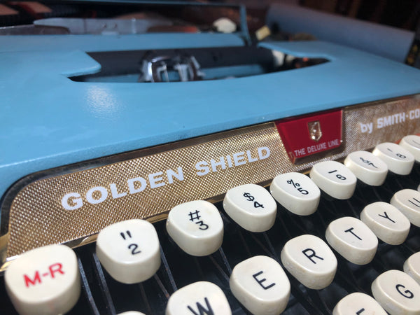 *Refurbished Smith-Corona Golden Shield Ultra Portable Typewriter
