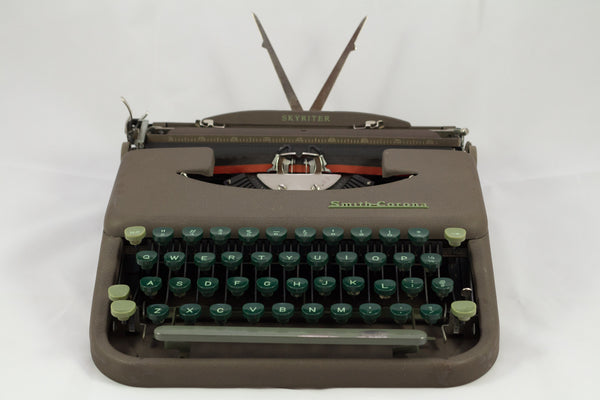 Refurbished Manual Portable Smith-Corona Skyriter Typewriter