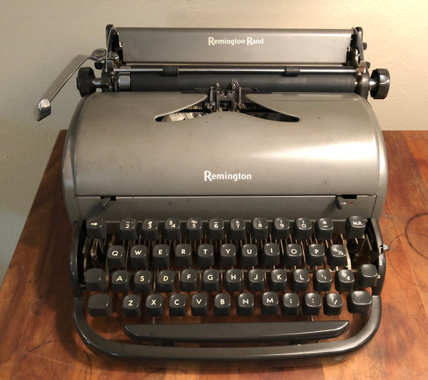 "*Refurbished Remington ""All New"" Typewriter"