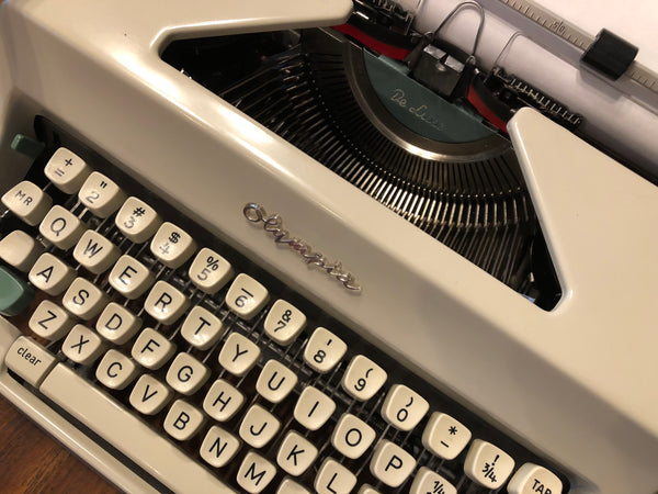 *Refurbished Olympia SM9 Portable Typewriter with Warranty