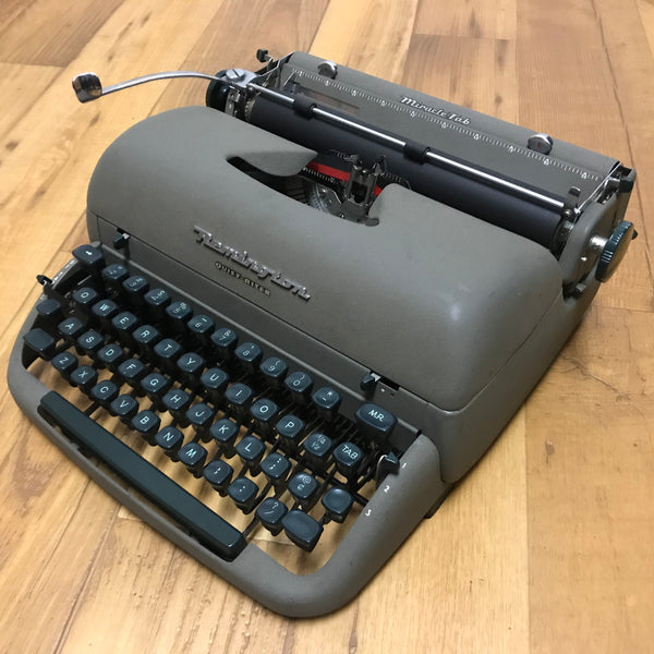 *Refurbished Remington Quiet-Riter Typewriter--HOLD for Michael Y.