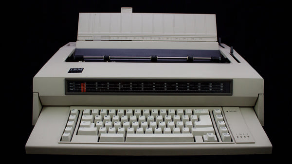 Refurbished IBM Wheelwriter 3 Typewriter with Warranty