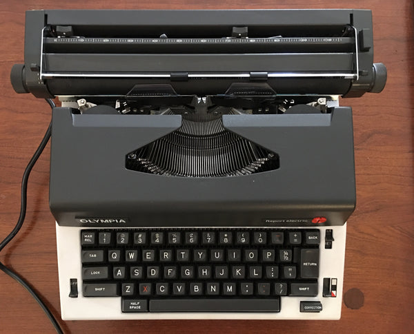 Refurbished Olympia Report Electric Typewriter