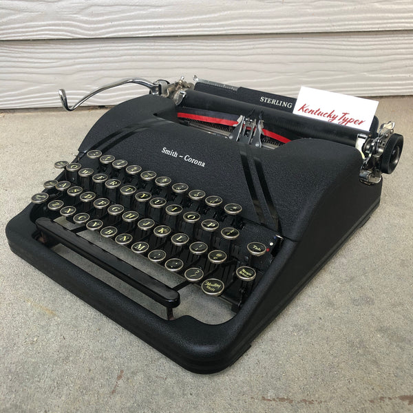 *Refurbished Smith-Corona Sterling Typewriter with Warranty