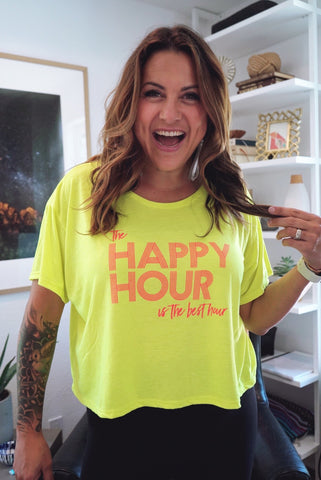 The Happy Hour is The Best Hour tee