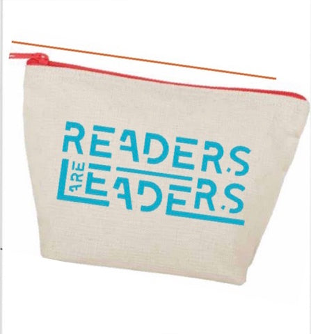 Readers are Leaders Zipper Pouch