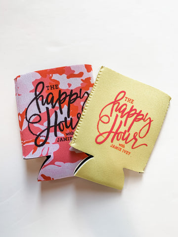Happy Hour Drink Cooler *AKA koozie*
