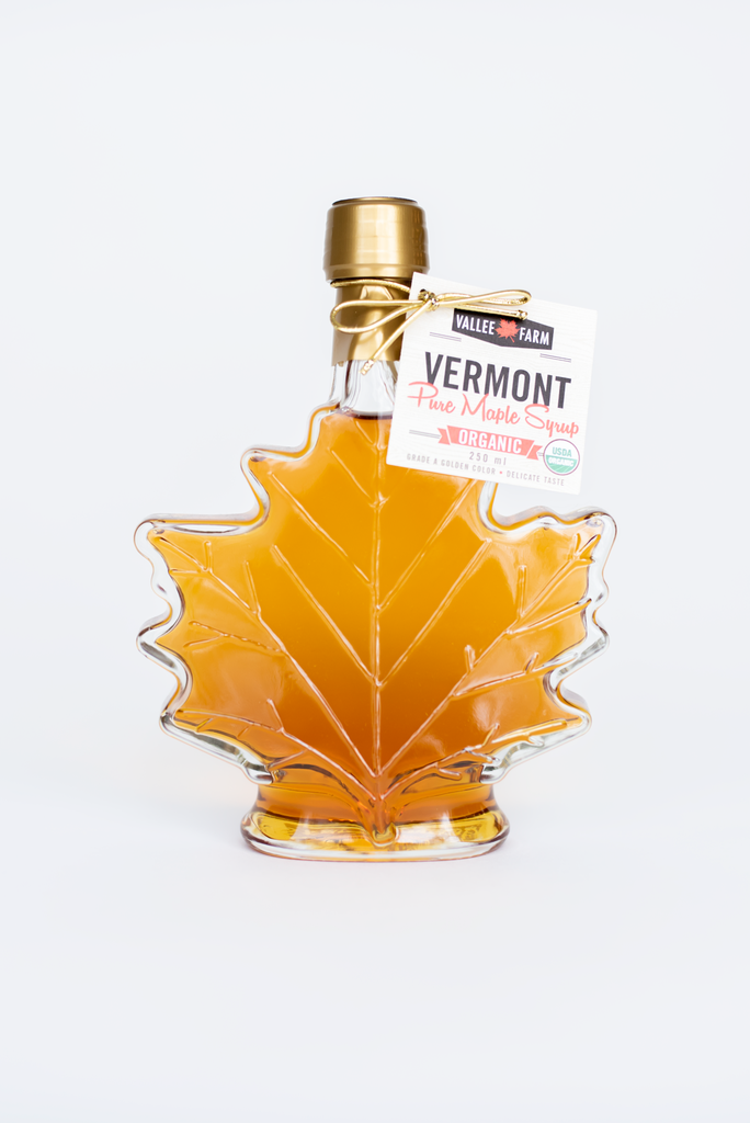 Glass Maple Leaf 250 ml