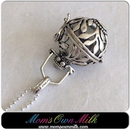 38 mm x 20 mm Design D - Small Locket Single Inclusion (PSP) - Mom's Own Milk