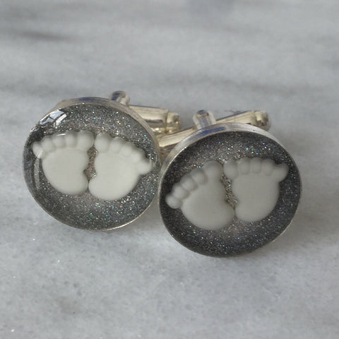 16 mm Silver Plated Cufflinks - Mom's Own Milk