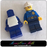 Brick Men - 40 mm x 24 mm - Mom's Own Milk