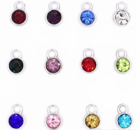 ADD ON - Birthstone Charms for DIY Keepsakes and Gifts
