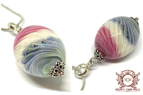 Lampworked Glass Pendant