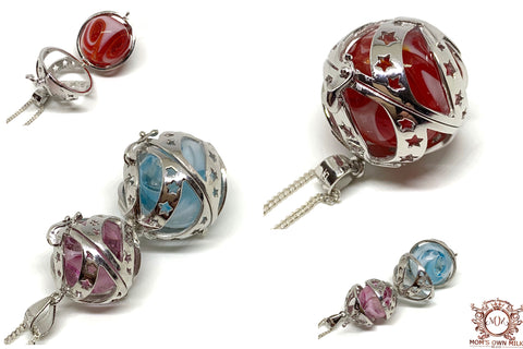 Lampwork Orb Locket