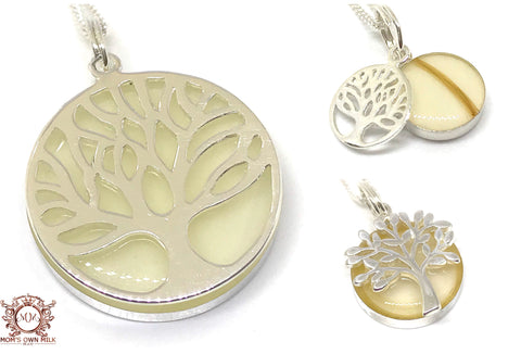 Tree of Life Pendant - Sterling Silver (Resin)