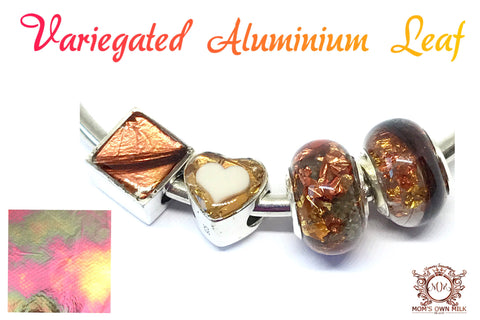 Variegated Aluminum Metal Leaf (Resin)