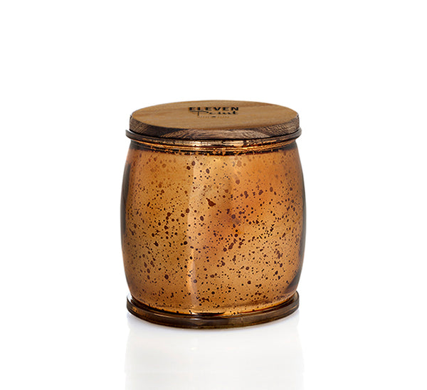 Autumn No. 60 Mercury Barrel Candle in Bronze