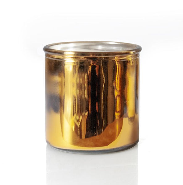 Happy Camper Rock Star Candle in Gold