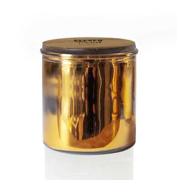 Pumpkin Please Rock Star Candle in Gold