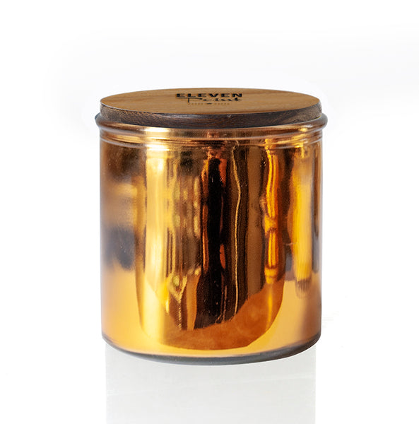 The Rock Star Candle in Gold