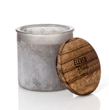 Up A Creek River Rock Candle in Gray