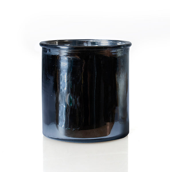 Almond Bark Rock Star Candle in Gunmetal