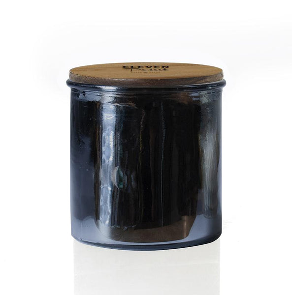 Morning Dew Rock Star Candle in Gunmetal