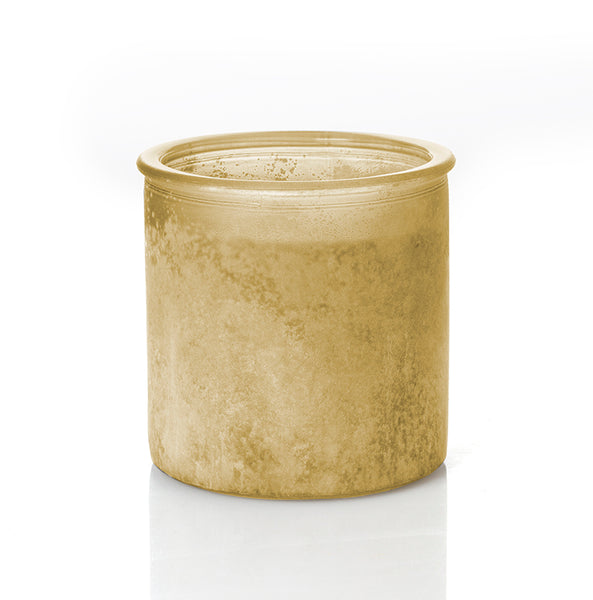 Blackberry River Rock Candle in Olive